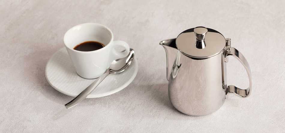 Serving coffee pots