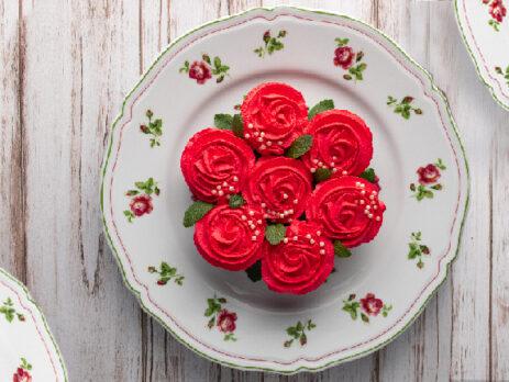 Cupcakes al cioccolato e frosting di mascarpone